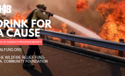 DRINK FOR A CAUSE, HELPING CALIFORNIA